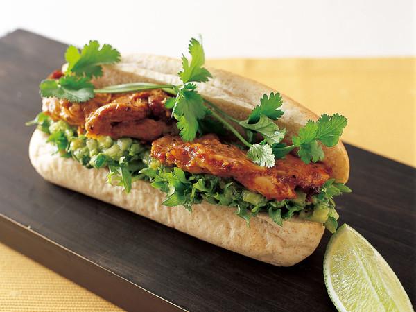 チポトレチキン サンドイッチ