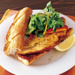 チキンマリナーラ サンドイッチ