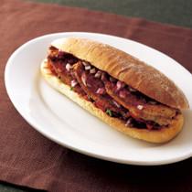 スパイスRub(ラブ)ポークステーキ サンドイッチ