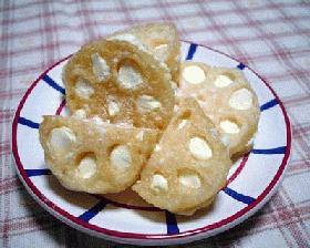 レンコンのチーズサンド
