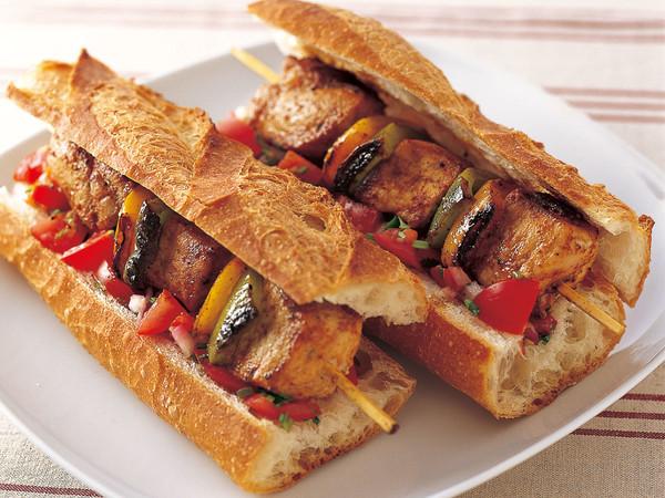 スパイスRub(ラブ)ポーク サンドイッチ