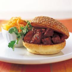 バーベキューポーク サンドイッチ