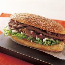 ペッパービーフステーキ サンドイッチ