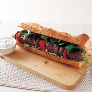 ラムケバブ サンドイッチ