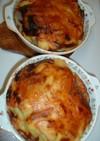 鮭と根菜の中華風グラタン