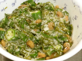 納豆・オクラ・めかぶ・とろろ芋混ぜ混ぜ