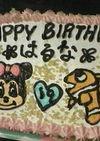 簡単☆キャラクターバースデーケーキ
