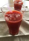 手作りトマトジュース!