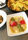 スペイン料理〜鶏肉の白ワイン煮込み〜