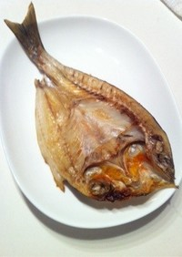 冷蔵庫で作る美味しい魚の干物