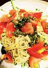 ヘルシーカッペリーニ★ツナandトマト