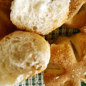 中種法でフワフワ☆HBくるみパン