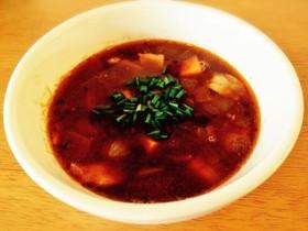 ★スイートポテト+小豆のスープ★