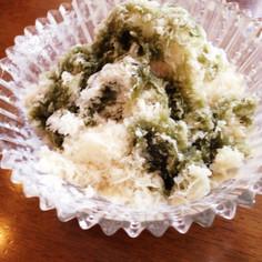 びっくり濃厚☆豆乳でかき氷