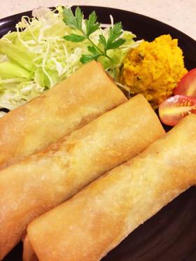 ミートソース&ポテトの居酒屋風〜春巻き✿