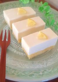 生クリーム無し*お豆腐レアチーズケーキ