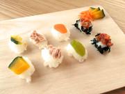 【離乳食】お祝い★ミニにぎり寿司の写真