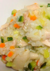 野菜たっぷり!鶏肉のお粥