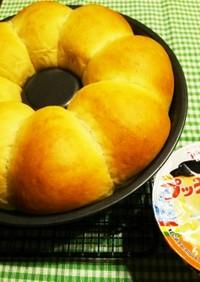 HB☆生地!プッチンプリンちぎりパン♪