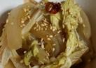 簡単♡レンジ減圧調理!コリコリ白菜と玉葱