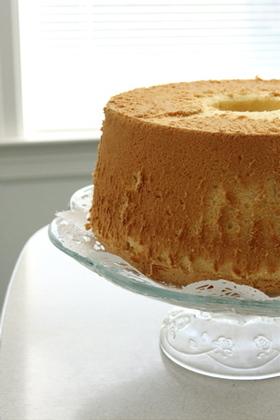 基本の基本 簡単シフォンケーキ