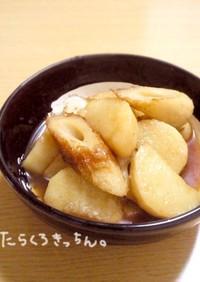 長芋とちくわの煮物