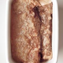 牛ステーキ肉のビネガー漬け