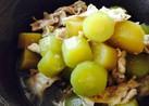 胡瓜と豚バラの柚子胡椒煮☆