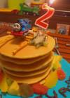 ☆トーマス大好き2歳のお誕生日ケーキ☆