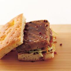グリルツナ サンドイッチ