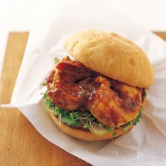 ホット&サワーBBQシュリンプ サンドイッチ