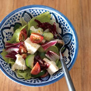 豆腐のギリシャ風サラダ