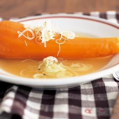 にんじんの丸ごとスープ
