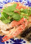 蟹出汁が美味しい★渡り蟹のヤムウンセン
