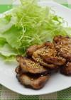 豚肉の麺つゆ炒め