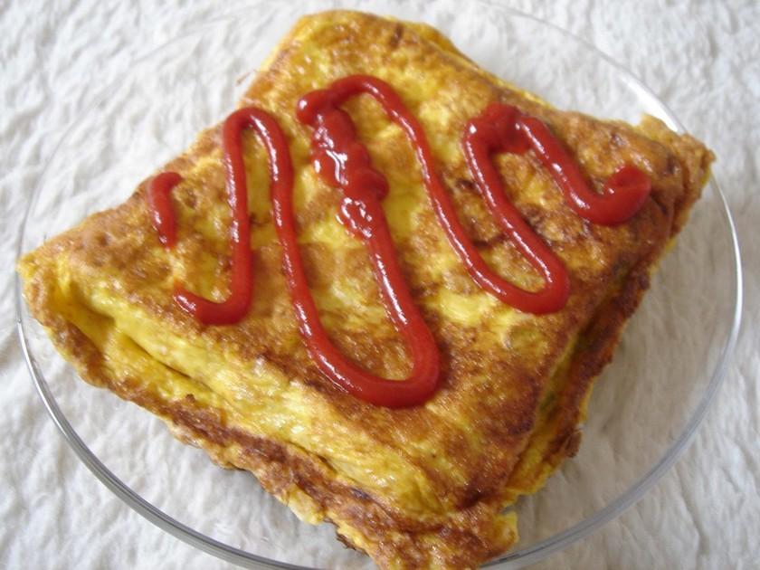 インド式☆オムレツトースト