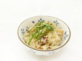 昆布水とポン酢で絶品いか(するめ)ご飯