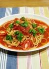 簡単!トマトとツナの冷製スープパスタ