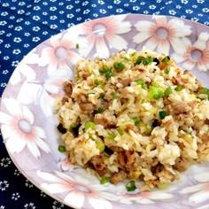 ✿塩麹deネギ豚炒飯✿