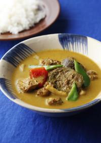 鶏肉と野菜のタイ風カレー