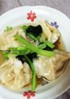 簡単中華✨餃子の皮でスープ小籠包