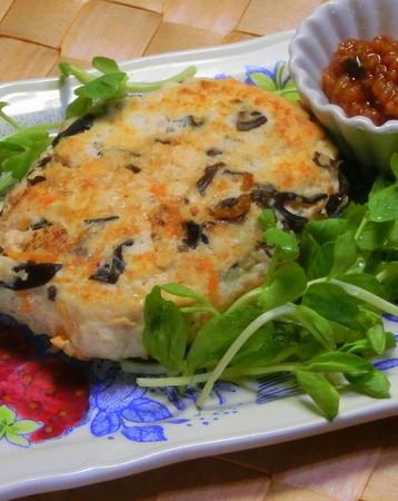発酵食品でヘルシー豆腐ハンバーグ!!
