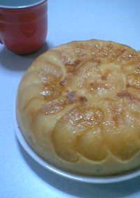炊飯器で簡単★薩摩芋と林檎のケーキ