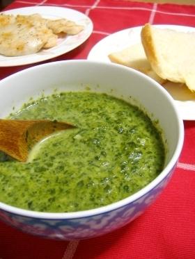 ハンガリー家庭料理♪♪ほうれん草のスープ