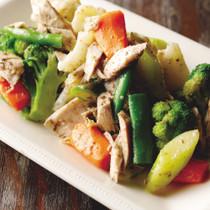 自家製ツナと温野菜のサラダ