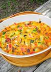 オーブンで☆夏野菜のスパニッシュオムレツ