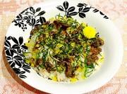 【動画付】簡単 美味しい♪牛肉の混ぜ寿司の写真