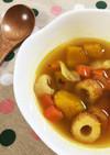 ☆ちくわとカボチャの簡単スープカレー☆