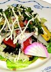 海鮮サラダ 新鮮魚介のっけ盛り