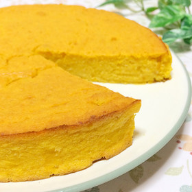 かぼちゃのおからヨーグルトケーキ